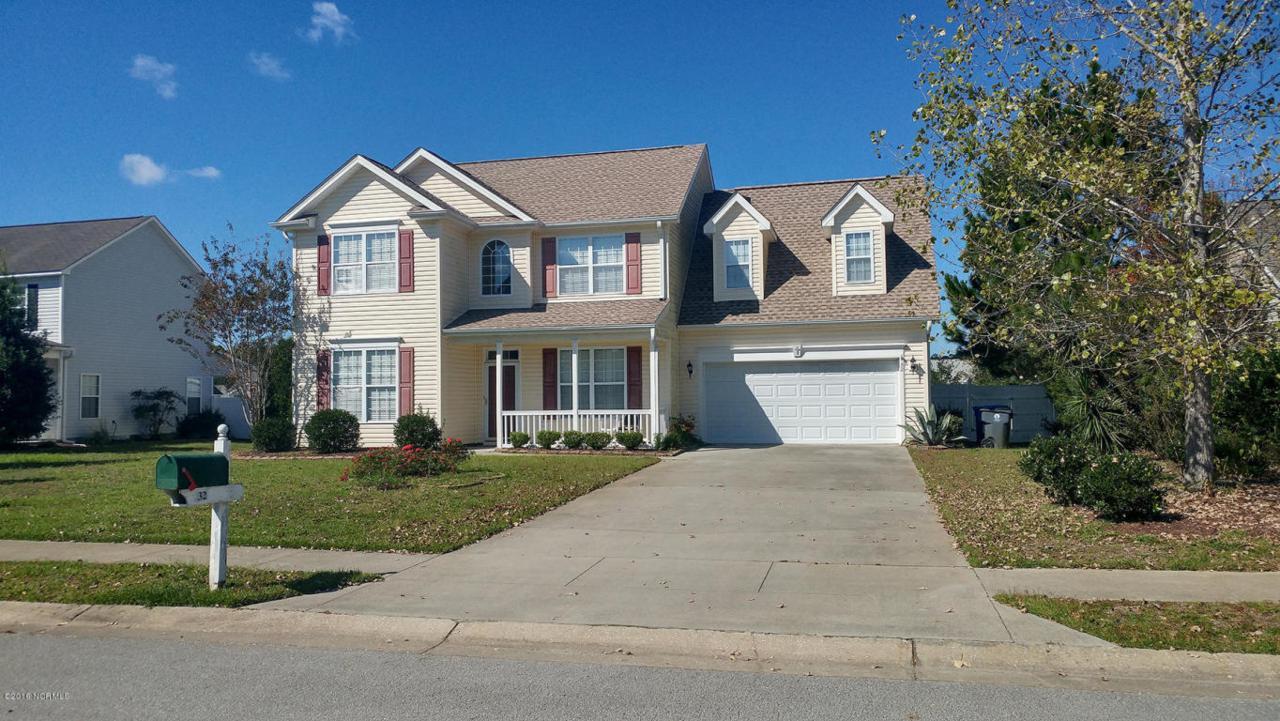 32 Macgregor Drive, Shallotte, NC 28470 (MLS #100033655) :: Century 21 Sweyer & Associates