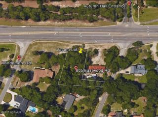 805 Eastwood Road, Wilmington, NC 28403 (MLS #100053983) :: Century 21 Sweyer & Associates
