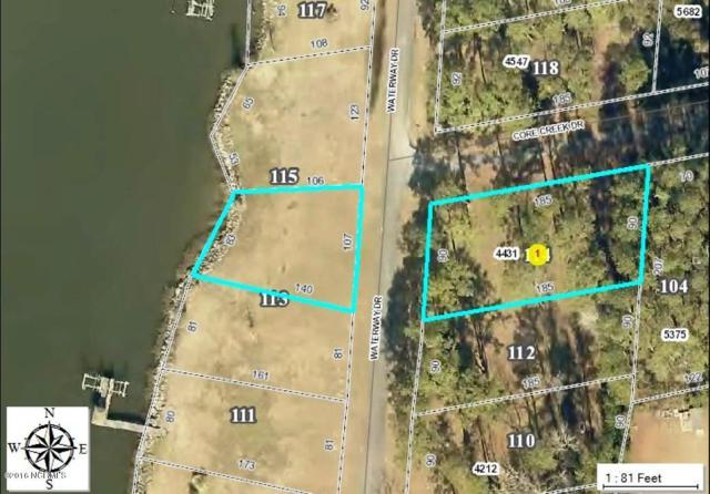 114 Waterway Drive, Beaufort, NC 28516 (MLS #100025143) :: Century 21 Sweyer & Associates