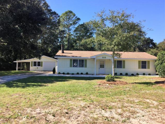212 Manatee Street, Cape Carteret, NC 28584 (MLS #100034960) :: Century 21 Sweyer & Associates