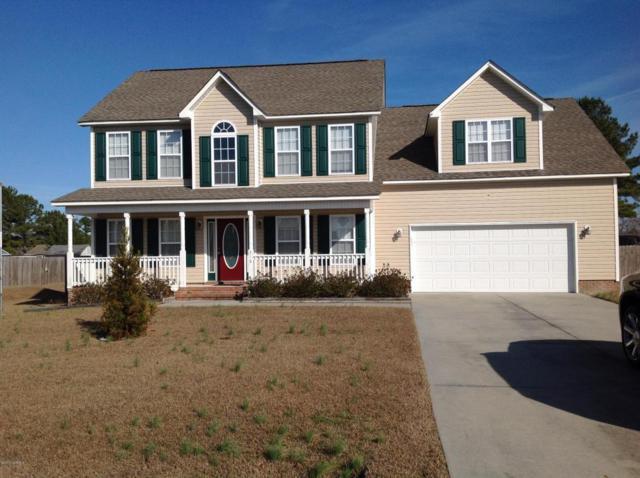 216 Target Lane, Hubert, NC 28539 (MLS #100045225) :: Century 21 Sweyer & Associates