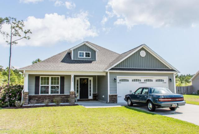 208 Marsh Haven Drive, Sneads Ferry, NC 28460 (MLS #100063994) :: Century 21 Sweyer & Associates