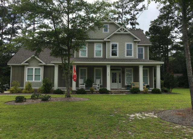 114 Break Water Drive, Newport, NC 28570 (MLS #100069070) :: Century 21 Sweyer & Associates