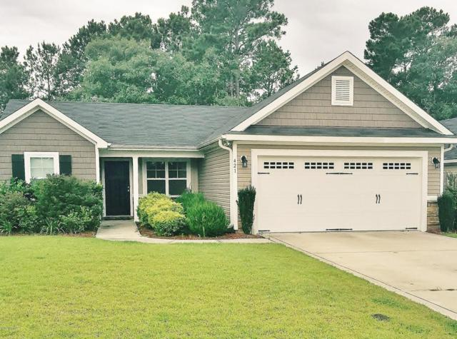 421 Ridgeway Drive, Sneads Ferry, NC 28460 (MLS #100069631) :: Courtney Carter Homes