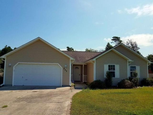 311 Top Knot Road, Hubert, NC 28539 (MLS #100077925) :: Harrison Dorn Realty