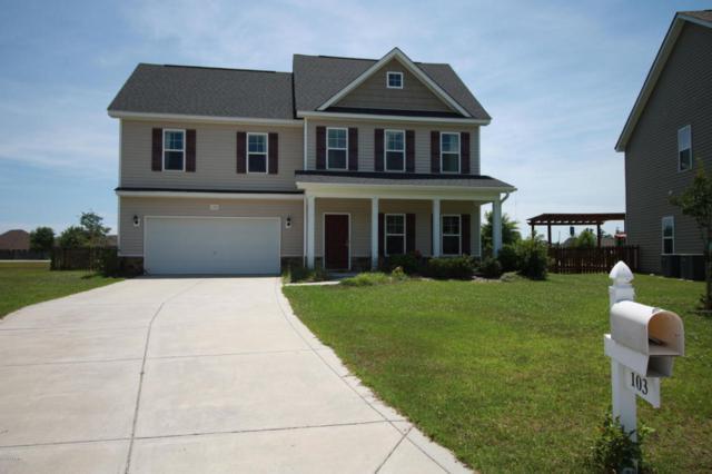 103 Long Pond Drive, Sneads Ferry, NC 28460 (MLS #100080370) :: Century 21 Sweyer & Associates