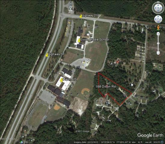 168 Dixon Road, Holly Ridge, NC 28445 (MLS #100089997) :: Century 21 Sweyer & Associates