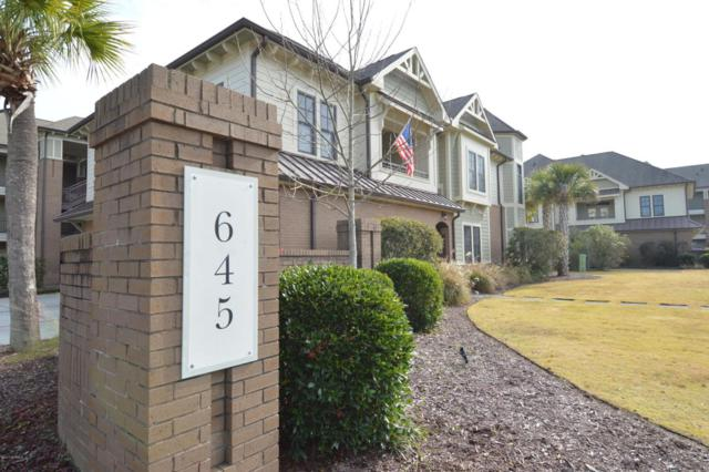 645 Village Park Drive #104, Wilmington, NC 28405 (MLS #100093494) :: Resort Brokerage
