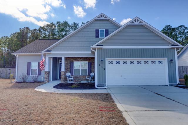 113 Stonecroft Lane, Jacksonville, NC 28546 (MLS #100099567) :: Century 21 Sweyer & Associates