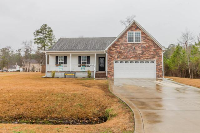 307 Sky Blue Lane, Jacksonville, NC 28540 (MLS #100100930) :: Harrison Dorn Realty