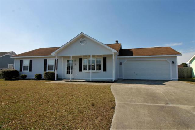 414 Dion Drive, Hubert, NC 28539 (MLS #100104810) :: Century 21 Sweyer & Associates