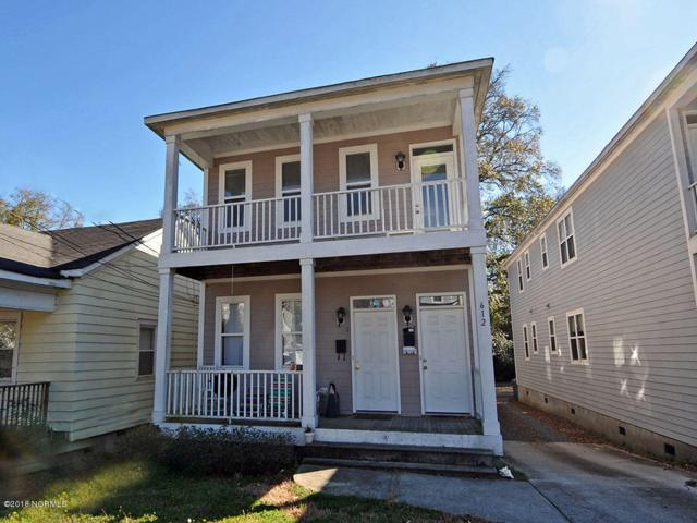 612 Orange Street A & B, Wilmington, NC 28401 (MLS #100105950) :: David Cummings Real Estate Team