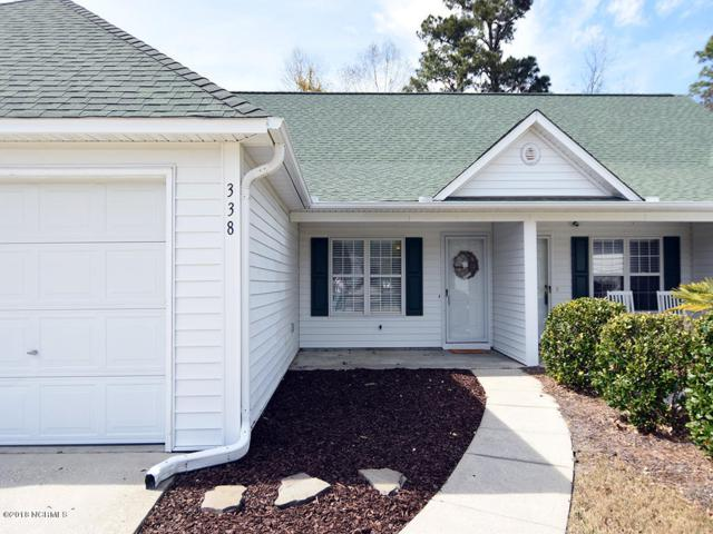 338 Emerald Cove Court #11, Wilmington, NC 28409 (MLS #100106309) :: The Oceanaire Realty