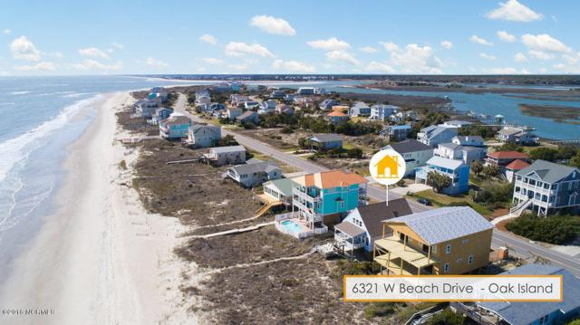 6321 W Beach Drive, Oak Island, NC 28465 (MLS #100107042) :: Coldwell Banker Sea Coast Advantage