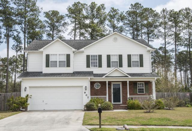 907 Savannah Drive, Jacksonville, NC 28546 (MLS #100108713) :: The Oceanaire Realty