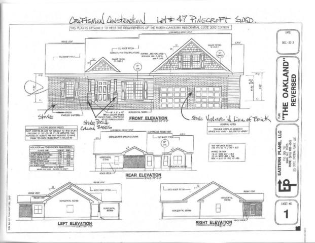 Lot 47 Woods Edge Drive, Dunn, NC 28334 (MLS #100109533) :: Century 21 Sweyer & Associates