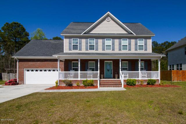 909 Stagecoach Drive, Jacksonville, NC 28546 (MLS #100110973) :: The Oceanaire Realty