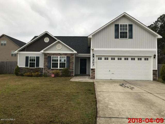 203 Ivy Glen Lane, Jacksonville, NC 28546 (MLS #100111571) :: Harrison Dorn Realty