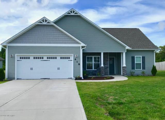 418 Old Stage Road, Richlands, NC 28574 (MLS #100117239) :: Courtney Carter Homes