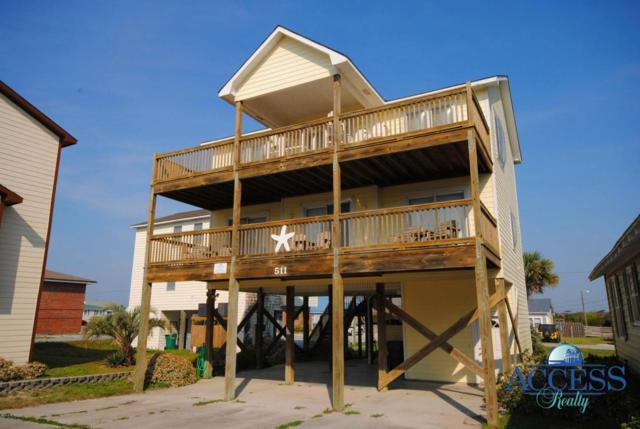 511 N Shore Drive, Surf City, NC 28445 (MLS #100121346) :: The Oceanaire Realty