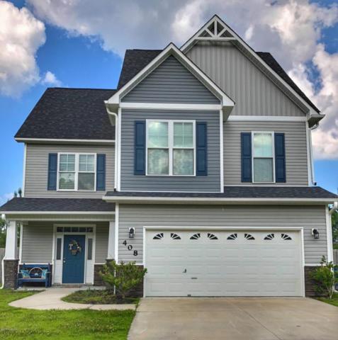 408 Savannah Drive, Jacksonville, NC 28546 (MLS #100123275) :: RE/MAX Essential