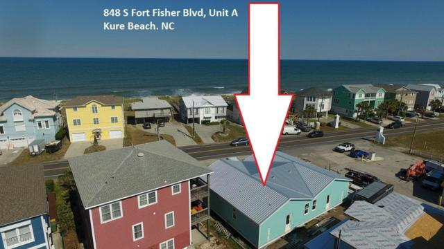 848 S Fort Fisher Boulevard S A, Kure Beach, NC 28449 (MLS #100125506) :: The Keith Beatty Team