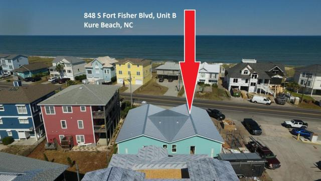848 S Fort Fisher Boulevard S B, Kure Beach, NC 28449 (MLS #100125625) :: The Keith Beatty Team