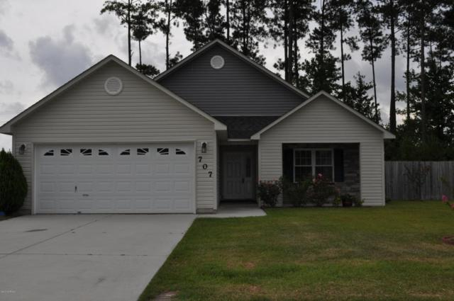 707 Savannah Drive, Jacksonville, NC 28546 (MLS #100126643) :: RE/MAX Elite Realty Group