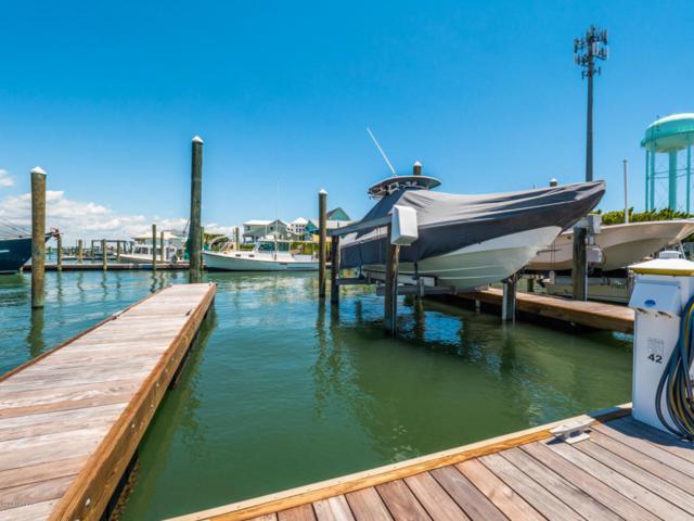 902 S Anderson Boulevard Slip 42, Topsail Beach, NC 28445 (MLS #100127261) :: Coldwell Banker Sea Coast Advantage