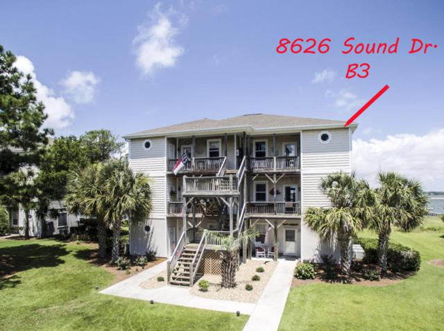 8626 Sound Drive B3, Emerald Isle, NC 28594 (MLS #100127674) :: David Cummings Real Estate Team