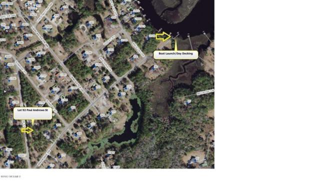 Lot 92 Paul Andrews Street, Supply, NC 28462 (MLS #100129827) :: Donna & Team New Bern