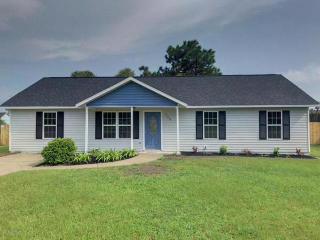 304 Dayrell Drive, Hubert, NC 28539 (MLS #100130638) :: Century 21 Sweyer & Associates