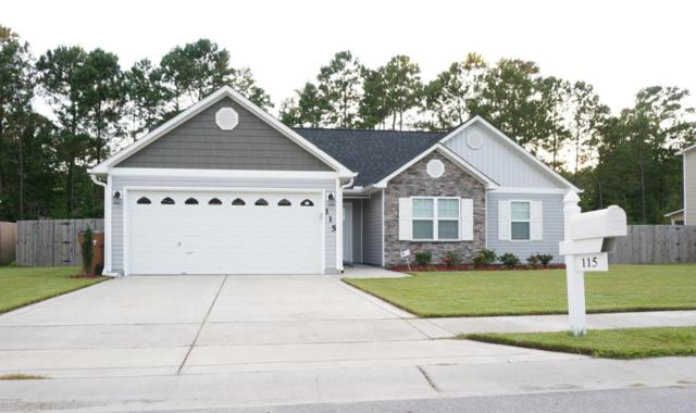 115 Stonecroft Lane, Jacksonville, NC 28546 (MLS #100131084) :: The Oceanaire Realty