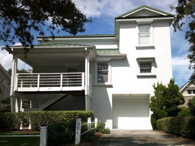 504 W Yacht Drive, Oak Island, NC 28465 (MLS #100133191) :: The Oceanaire Realty