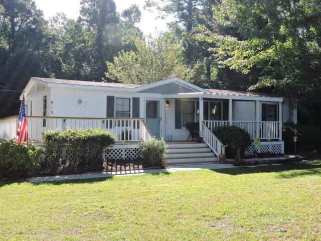 913 Harkers Island Road, Beaufort, NC 28516 (MLS #100133557) :: Century 21 Sweyer & Associates