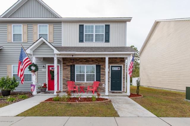 636 Ebb Tide Lane, Sneads Ferry, NC 28460 (MLS #100141514) :: The Oceanaire Realty