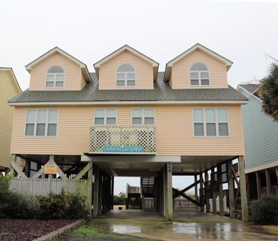 649 Ocean Boulevard W, Holden Beach, NC 28462 (MLS #100143864) :: Coldwell Banker Sea Coast Advantage