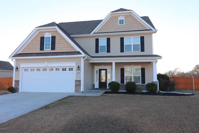 206 Maidstone Drive, Richlands, NC 28574 (MLS #100144000) :: Chesson Real Estate Group