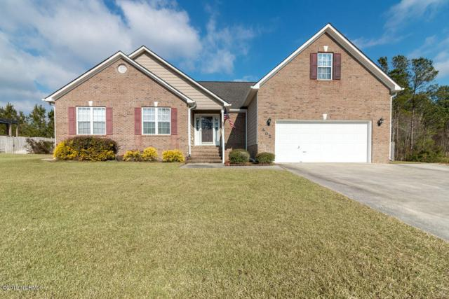 402 Stagecoach Drive, Jacksonville, NC 28546 (MLS #100146802) :: Chesson Real Estate Group