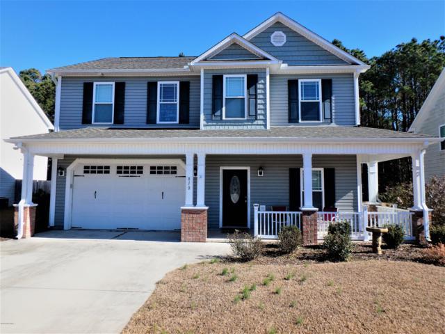 810 Fort Sumter Way, Swansboro, NC 28584 (MLS #100147179) :: Terri Alphin Smith & Co.