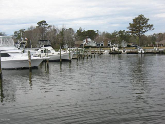 104 Marina At Gull Harbor Slip 35, Newport, NC 28570 (MLS #100154456) :: The Oceanaire Realty