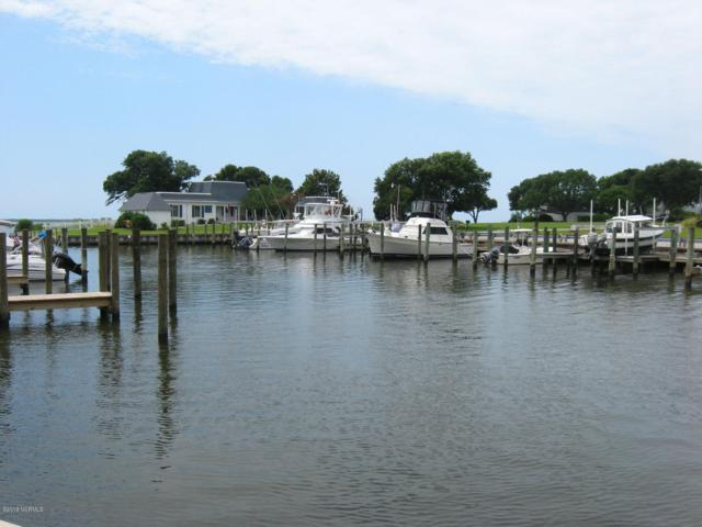 104 Marina At Gull Harbor Slip 31, Newport, NC 28570 (MLS #100154458) :: The Oceanaire Realty