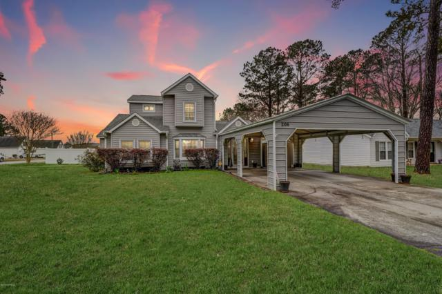 208 Balsam Road, Jacksonville, NC 28546 (MLS #100156241) :: The Oceanaire Realty