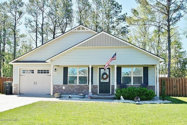 244 Breakwater Drive, Sneads Ferry, NC 28460 (MLS #100162061) :: The Oceanaire Realty