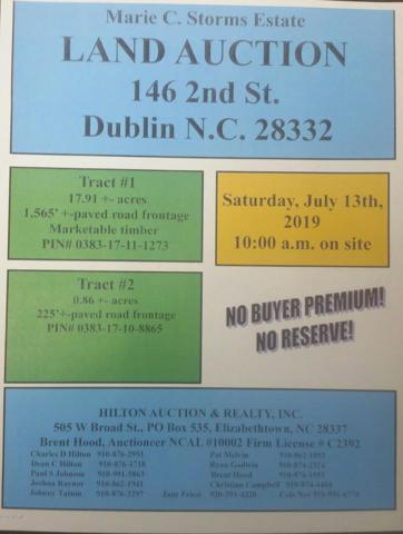 146 2nd Street, Dublin, NC 28322 (MLS #100172321) :: The Keith Beatty Team