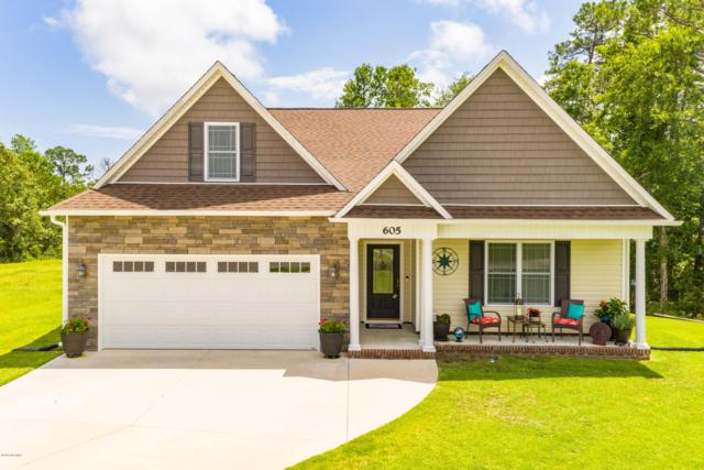 605 Teal Court, Swansboro, NC 28584 (MLS #100175270) :: RE/MAX Elite Realty Group