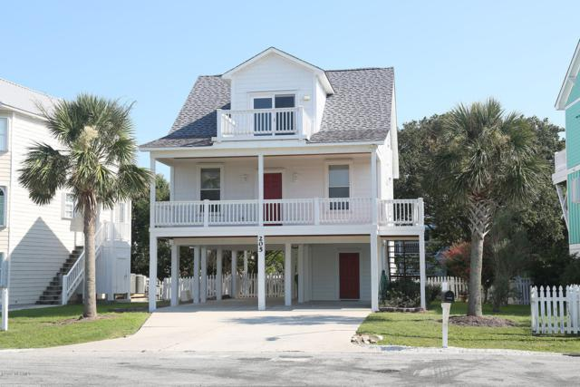 205 Sealane Way, Kure Beach, NC 28449 (MLS #100176213) :: David Cummings Real Estate Team