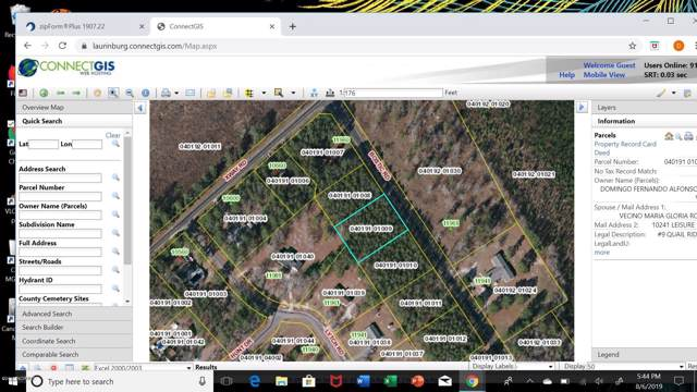Lot #9 Bostic Road, Laurinburg, NC 28352 (MLS #100179935) :: The Keith Beatty Team