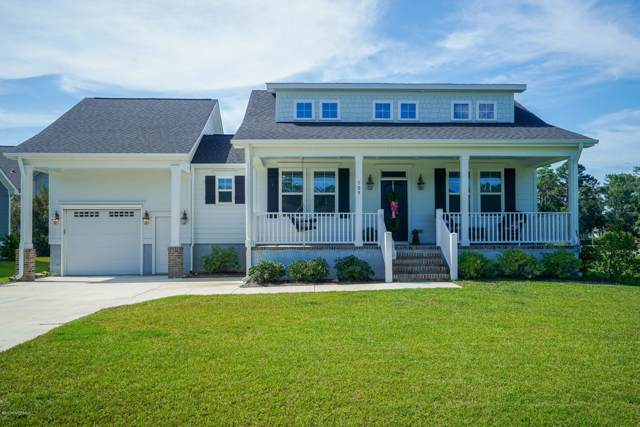 109 N River Club Drive, Beaufort, NC 28516 (MLS #100180006) :: Vance Young and Associates