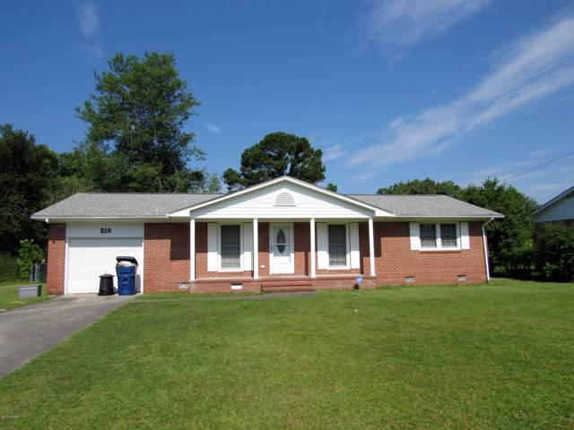 210 Wildwood Road, Havelock, NC 28532 (MLS #100180536) :: RE/MAX Essential